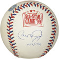 Autographs:Baseballs, Cal Ripken Jr. Single Signed All-Star Baseball. Considered one ofthe best shortstops to ever play the game, Cal Jr. was in...