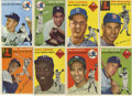 Baseball Cards:Lots, 1954 Topps Baseball Group Lot of 16. Nice collection from the 1954Topps baseball issue. Highlights include #1 Williams (VG...
