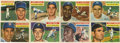 Baseball Cards:Lots, 1956 Topps Baseball Group Lot of 157. Nice collection from the 1956Topps baseball series. Highlights include #'s 31 Aaron ...