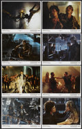 """Movie Posters:Science Fiction, Aliens (20th Century Fox, 1986). Lobby Card Set of 8 (11"""" X 14"""").Science Fiction...."""