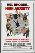 "Movie Posters:Comedy, High Anxiety (20th Century Fox, 1977). One Sheet (27"" X 41"") Tri-Folded Style B. Comedy...."