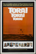 "Movie Posters:War, Tora! Tora! Tora! (20th Century Fox, 1970). One Sheet (27"" X 41"")Tri-Folded Style B. War...."