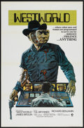 "Movie Posters:Science Fiction, Westworld (MGM, 1973). One Sheet (27"" X 41"") Tri-Folded. ScienceFiction...."