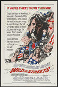 "Movie Posters:Drama, Wild in the Streets (American International, 1968). One Sheet (27"" X 41""). Drama...."