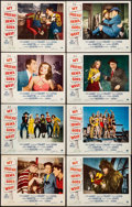 "Movie Posters:Comedy, My Friend Irma Goes West (Paramount, 1950). Overall: Fine/Very Fine. Lobby Card Set of 8 (11"" X 14"") & One Sheet (27"" X 41"")... (Total: 9 Items)"