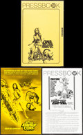 """Movie Posters:Fantasy, One Million Years B.C. & Other Lot (20th Century Fox, 1966). Very Fine+. Uncut Pressbooks (3) (Multiple Pages, Approx. 9"""" X ... (Total: 5 Items)"""