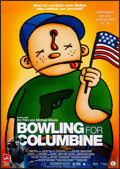 "Movie Posters:Documentary, Bowling for Columbine (Prokino, 2002). Rolled, Very Fine. German A1 (23.25"" X 33""). Documentary.. ..."