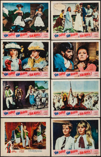 """A Woman Like Satan & Other Lot (Lopert, 1959). Fine on Paper. Lobby Cards (8) (11"""" X 14""""). Bad Girl. ... (..."""