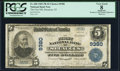 National Bank Notes:New Jersey, Secaucus, NJ - $5 1902 Plain Back Fr. 600 The First NB Ch. # 9380 PCGS Apparent Very Good 8.. ...