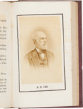Photography:CDVs, Robert E. Lee: Rare 1870 Richmond Tour Book with Tipped-in Lee Photograph....