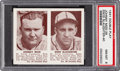 Baseball Cards:Singles (1940-1949), 1941 Double Play Mize/Slaughter #39/40 PSA NM-MT 8. ...