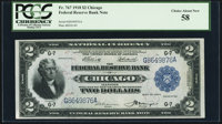 Fr. 767 $2 1918 Federal Reserve Bank Note PCGS Choice About New 58