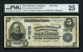 National Bank Notes:Louisiana, New Orleans, LA - $5 1902 Date Back Fr. 591 The German-American NBCh. # (S)7876 PMG Very Fine 25.. ...