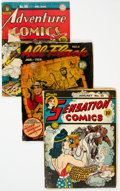 Golden Age (1938-1955):Miscellaneous, Golden Age Comics Group of 12 (Various Publishers, 1940s-50s).... (Total: 12 Comic Books)