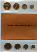 Argentina, Argentina: Republic Group of 3 Uncertified 8-Piece Sample CoinPlanchet Sets (Total: 24 Coins),... (Total: 12 coins)