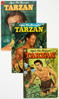 Golden Age (1938-1955):Adventure, Tarzan Group of 40 (Dell, 1952-61) Condition: Average FN.... (Total: 40 Comic Books)