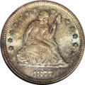 Seated Quarters, 1877-S 25C MS67 NGC....