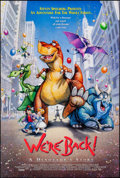 """Movie Posters:Animation, We're Back! A Dinosaur's Story & Other Lot (Universal, 1993).Rolled, Very Fine+. One Sheets (3) (26.75"""" X 39.75"""", 27"""" X 41""""...(Total: 3 Items)"""