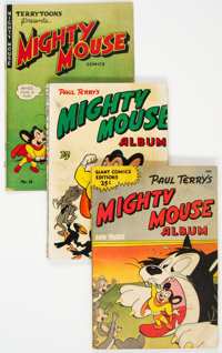 Mighty Mouse Group of 3 (St. John, 1950s-60s) Condition: Average VG.... (Total: 3 Comic Books)