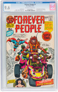 Bronze Age (1970-1979):Superhero, The Forever People #1 (DC, 1971) CGC NM+ 9.6 Off-white to whitepages....