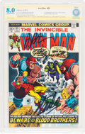 Bronze Age (1970-1979):Superhero, Iron Man #55 Stan Lee Authentic Signature (Marvel, 1973) CBCS VF8.0 Off-white to white pages....