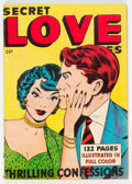 Golden Age (1938-1955):Romance, Fox Giants: Secret Love Stories (Fox Features Syndicate, 1949) Condition: VG/FN....