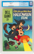 Silver Age (1956-1969):Cartoon Character, Dell Giant #36 Little Lulu and Witch Hazel Halloween Fun - File Copy (Dell, 1960) CGC NM 9.4 Off-white pages....