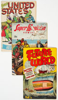 Golden Age (1938-1955):Miscellaneous, Golden Age Comics Group of 10 (Various Publishers, 1940s-50s) Condition: Average FN.... (Total: 10 Comic Books)