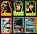 Non-Sport Cards:Lots, 1977 Topps Stars Wars Series 1, 2, 3, 4 And 5 Card Collection (1207) And Stickers (286). ...