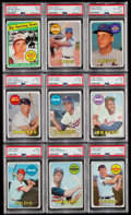 Baseball Cards:Lots, 1969 Topps Baseball Collection (273) With Stars....