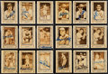 "Autographs:Sports Cards, 1980-83 Cramer ""Baseball Legends"" Signed Card Collection (34)...."