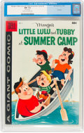 Silver Age (1956-1969):Humor, Dell Giant: Comics Marge's Little Lulu and Tubby at Summer Camp #2 (Dell, 1958) CGC NM- 9.2 Cream to off-white pages....