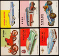 "Non-Sport Cards:Lots, 1954-55 Topps ""World On Wheels"" Collection (70)...."
