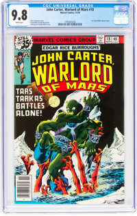 John Carter, Warlord of Mars #18 (Marvel, 1978) CGC NM/MT 9.8 White pages