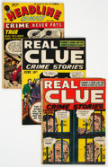Golden Age (1938-1955):Crime, Jack Kirby Crime Group of 7 (Various, 1940s-50s) Condition: Average FR/GD.... (Total: 7 Comic Books)