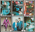 Non-Sport Cards:Sets, 1966 Topps Batman - Color Photo Complete Set (55). ...