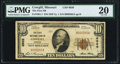 National Bank Notes:Missouri, Cowgill, MO - $10 1929 Ty. 1 The First NB Ch. # 6926 PMG Very Fine20.. ...