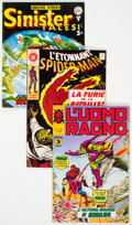 Bronze Age (1970-1979):Miscellaneous, Bronze to Modern Age Foreign Superhero Comics Group of 6 (VariousPublishers, 1975-81) Condition: Average VG/FN.... (Total: 6 ComicBooks)