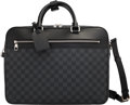 Luxury Accessories:Bags, Louis Vuitton Graphite Damier Coated Canvas Overnight Bag