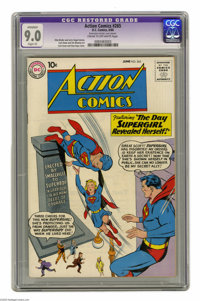 Action Comics #265 (DC, 1960) CGC Apparent VF/NM 9.0 Slight (P) Cream to off-white pages. Curt Swan and Stan Kaye cover...