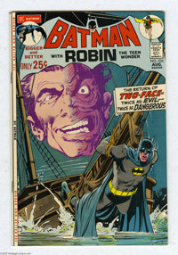 Batman #234 (DC, 1971) Condition: VF. Harvey Dent, aka Two-Face, makes his first modern appearance in this issue. Neal A...