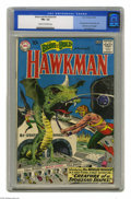Silver Age (1956-1969):Superhero, The Brave and the Bold #34 Hawkman (DC, 1961) CGC FN+ 6.5 Cream to off-white pages. Before Hawkman got his own book, DC gave...