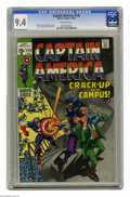 Silver Age (1956-1969):Superhero, Captain America #120 (Marvel, 1969) CGC NM 9.4 Off-white pages. Nick Fury appearance. Gene Colan cover. Colan and Joe Sinnot...