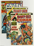 Bronze Age (1970-1979):Miscellaneous, Conan the Barbarian Group (Marvel, 1972-78) Condition: AverageFN/VF. Lot of three-dozen assorted Conan books includes ... (Total:36 Comic Books Item)