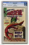 Silver Age (1956-1969):Superhero, Daredevil #33 (Marvel, 1967) CGC NM+ 9.6 White pages. Gene Colan cover and art. This is the highest grade assigned by CGC to...