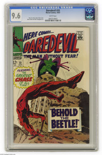 Daredevil #33 (Marvel, 1967) CGC NM+ 9.6 White pages. Gene Colan cover and art. This is the highest grade assigned by CG...