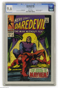 Silver Age (1956-1969):Superhero, Daredevil #36 (Marvel, 1968) CGC NM+ 9.6 White pages. Fantastic Four appearance. Doctor Doom cameo. Gene Colan cover and art...