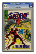 Silver Age (1956-1969):Superhero, Daredevil #40 (Marvel, 1968) CGC NM+ 9.6 Off-white pages. Gene Colan cover and art. This is the highest grade awarded to dat...