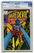 Silver Age (1956-1969):Superhero, Daredevil #48 (Marvel, 1969) CGC NM+ 9.6 White pages. Gene Colan cover and art. Only one copy currently grades higher with C...