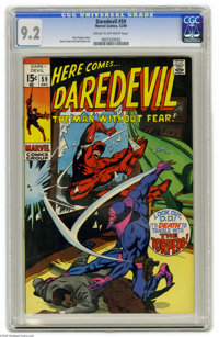 Daredevil #59 (Marvel, 1969) CGC NM- 9.2 Cream to off-white pages. Gene Colan and Syd Shores art. Overstreet 2004 NM- 9...